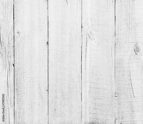 Foto op Aluminium Hout wood planks white textured background