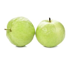 Guavas fruit isolated on white background