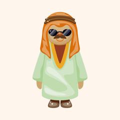 Arabian theme elements
