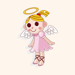 angel theme elements