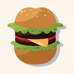 hamburger theme elements