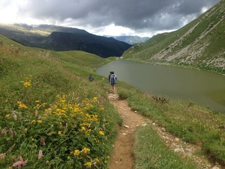 Cammino di montagna