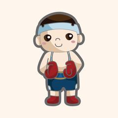 boxer theme elements