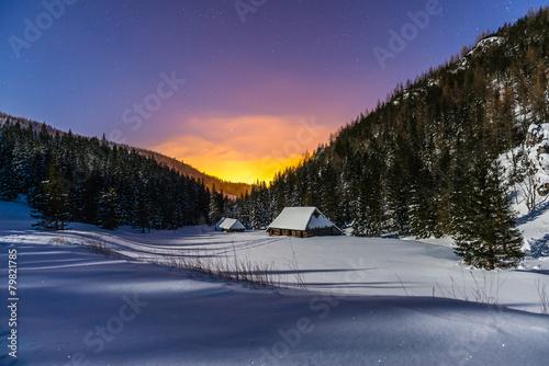 Dolina Jaworzynka nocą - 79821785