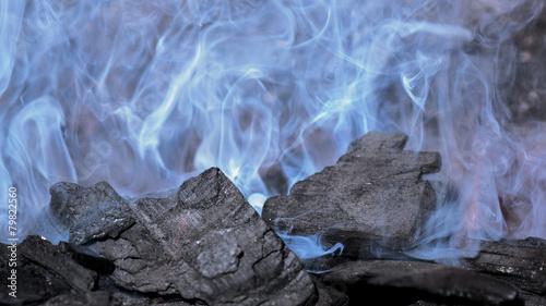 Rauchende Kohlen