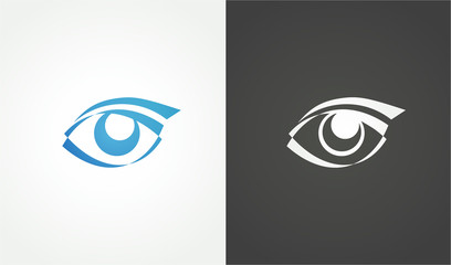 Eye logo conception