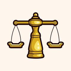 legal balance theme elements