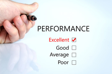 Checking Performance Form