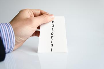 Hand writing Tutorial