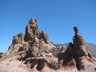 Vulkan Teide Felsformation
