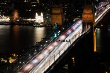 Harbor Bridge by Night