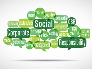 word cloud : CSR
