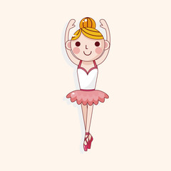 ballet dancer theme elements