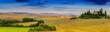 Leinwandbild Motiv Tuscany landscape - panorama, San Quirico d´Orcia, Italy