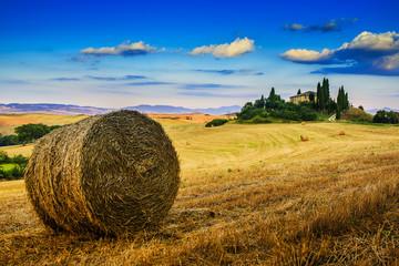 Tuscany landscape, San Quirico d´Orcia, Italy