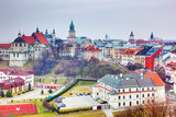 Lublin Stare Miasto panorama, Polska.
