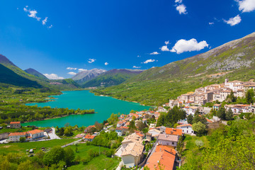 Lago di Barrea, Abruzzo, Italy