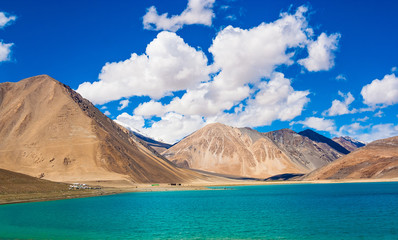 Pangong Tso, beautiful Himalayan lake, Ladakh, Northern India