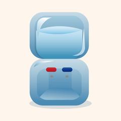 Home appliances theme dispenser elements