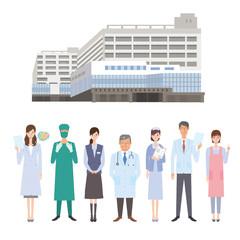 病院 職員 大学病院