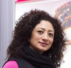 Latin woman in hair salon