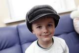 Kid in big hat