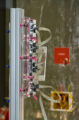 Thermographic experimental machine