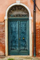 Vintage doors in Venice, Italy