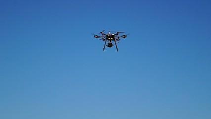 drone en approche