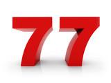 number 77 - 79832555