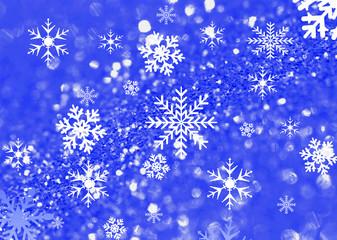 Snow flacke background