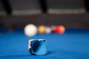 Billiard balls / A Vintage style photo from a billiard balls in