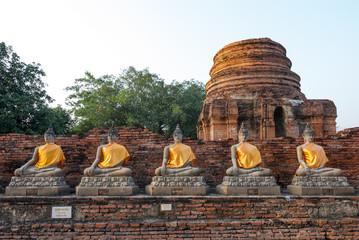 Buddha statue Ayutthaya Thailand