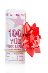 Gift  Turkish Lira