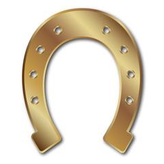 Ferro di cavallo d'oro
