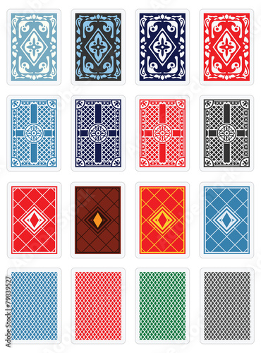 Playing Cards - Back Design - 79839527