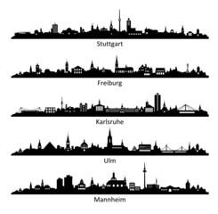 Skyline Baden-Württemberg