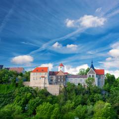 Dornburg castle in Thuringia, Germany