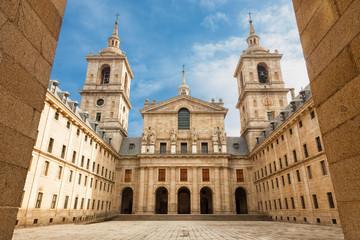 Royal Monastery of S. Lorenzo de El Escorial near Madrid, Spain