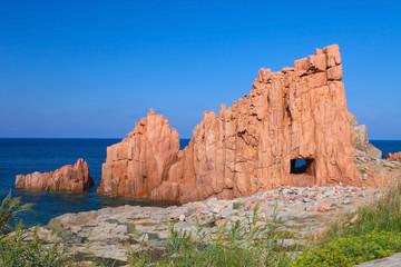 Rocks in Arbatax, Sardinia