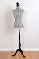 dress form on a stand