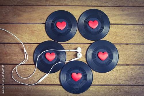 Leinwanddruck Bild Music Lover