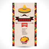 Fototapety Mexican food