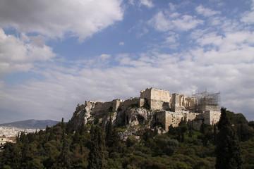 Akropolis am Tag