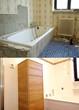 Renoviertes Bad