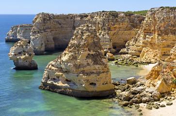 Navy Beach (Praia da Marinha), Lagoa, Algarve.