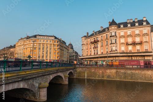 City on the water Centre Ville Savoureuse à de Belfort