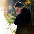 Sorrowful Man outdoor