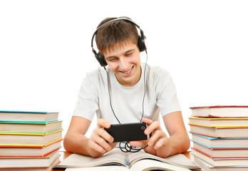 Student listen the Music