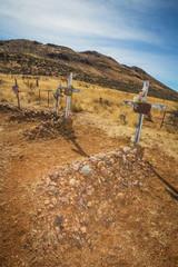 Desert Cemetery Graves